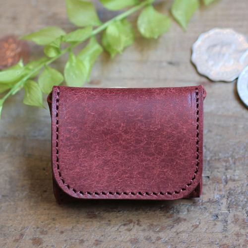 Tiny Coin Case / BRICK RED (プエブロ)