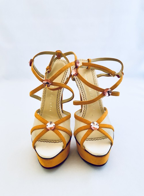 Charlotte Olympia Isadora suede sandal