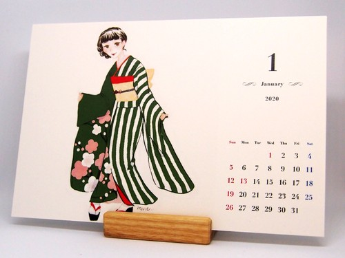 『Art Support』空藤希 2020カレンダー&マグカップ