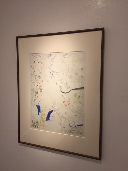 清水祐貴子 銅版画 「Utopia」 600×450mm ed8 額付き