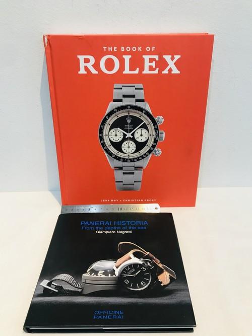 ROLEX, PANERAI    ハードカバー2冊