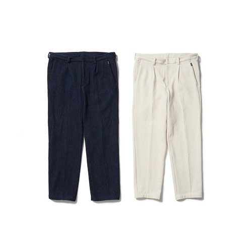 CAPTAINS HELM #Loose Denim Slacks Pants