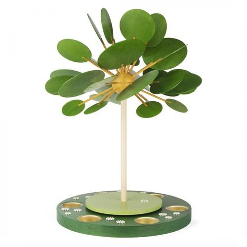 キャンドルピラミッド 春の木