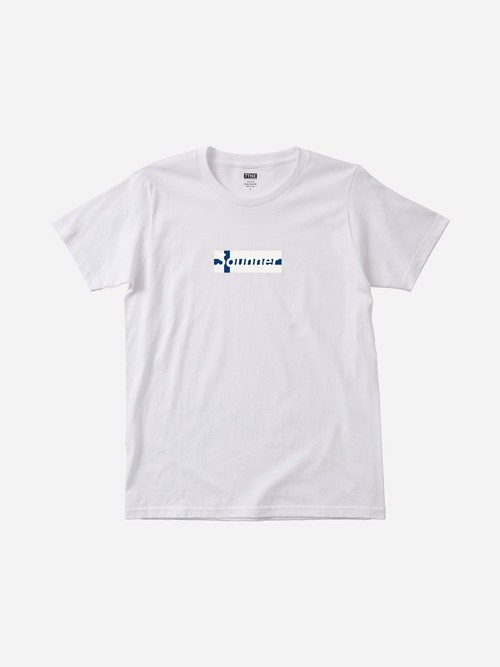 Saunner Box Logo Tee - Limited Model (Tanaka Atom ver.)