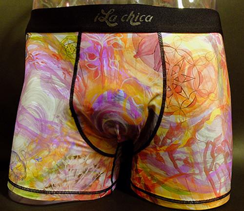 iLachica(イラチカ)眩惑万華鏡~岩堀葉デザイン メンズボクサーパンツ