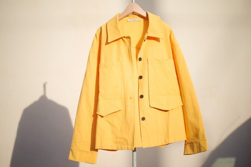 Unisex's / cotton SHIRT JACKET