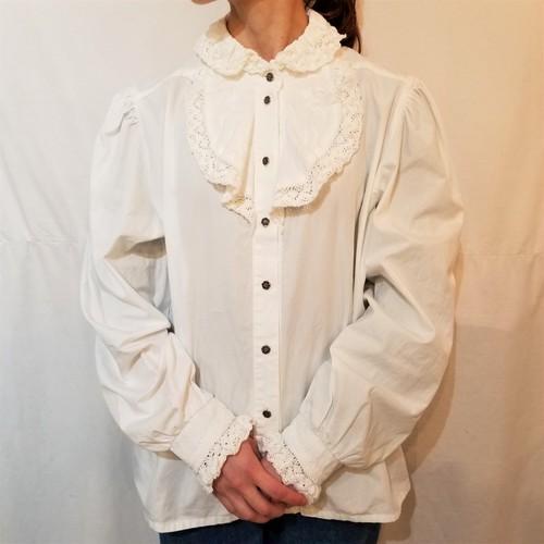 Lace frill blouse [IK-101]
