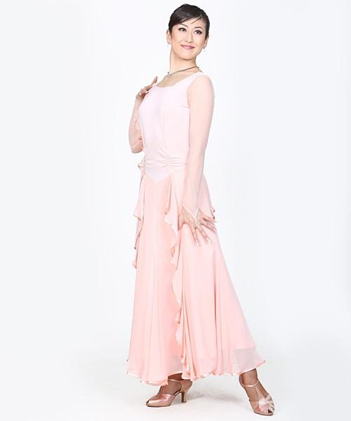 ドレス・ワンピースNo.7053-1 / パステルピンク