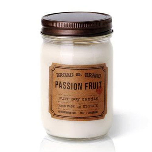 PASSION FRUIT CANDLE - BROAD STREET BRAND