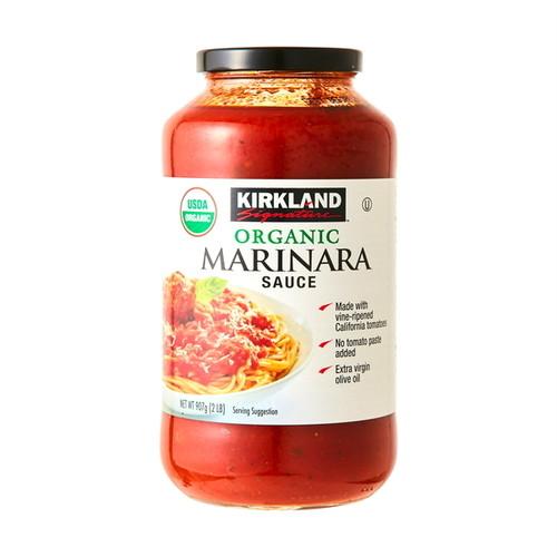 コストコ カークランドシグネチャー オーガニックマリナラソース 907g 1本   Costco Kirkland Signature Organic marinara source 907g 1item