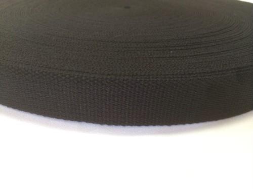 SALE! アクリルテープ 25㎜幅 2mm厚 黒 1巻50m