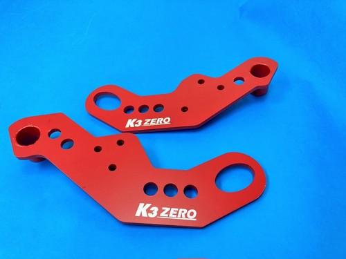 【お買い得セット】K3ZEROバンパー用 牽引フック フロント左右セット 9mm JB64W/JB74W
