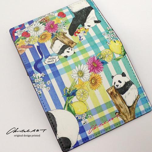 ■受注生産◆「シャンシャン1歳バースデー記念柄」デザイン ◆カードケース