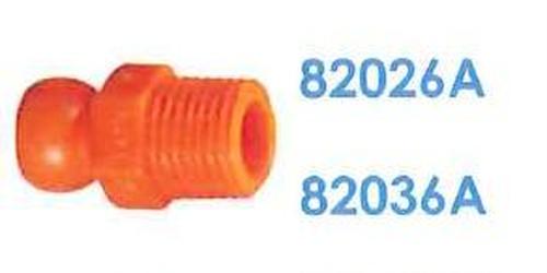 """82036A 汎用クーラントホース1/4"""" 1/4""""NPTコネクター"""