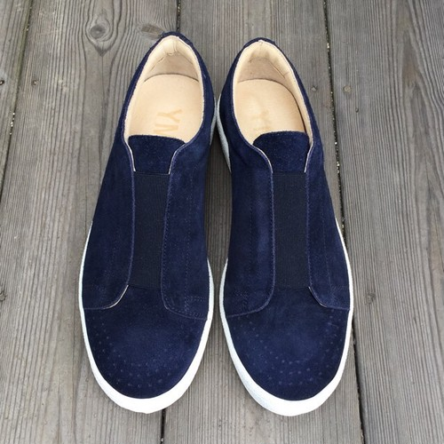 YMC elastic slip on navy