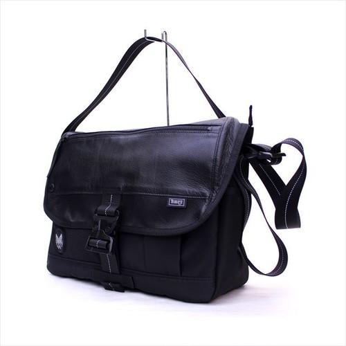 HARVEST LABEL 「CUSTOM type-001」 MESSENGER BAG (L) <BLACK>