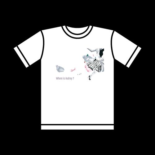 ウェアイズオードリー?Tシャツ