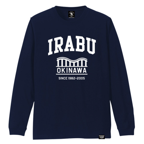 IRABU TOWN LONG SLEEVE TEE