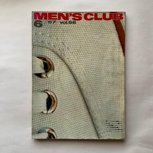 MEN'S CLUB メンズクラブ 66号  /  婦人画報社  /  1967年