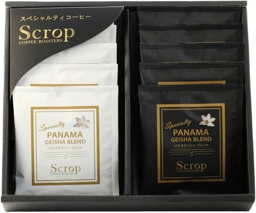 ギフトセット パナマゲイシャブレンド2種 ドリップバッグコーヒー10個 GG-D3