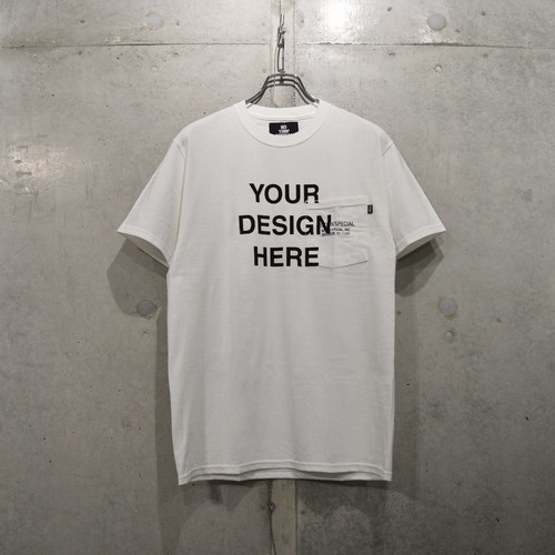 NOTHIN'SPECIAL MAKE YOUR OWN TEE / WHITE