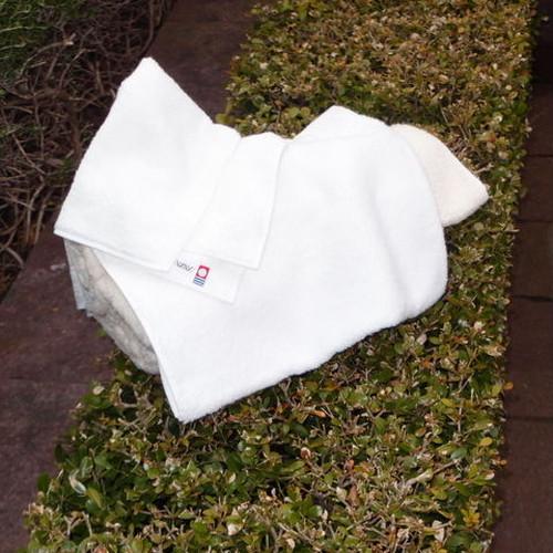 【今治タオル(白色)】インド綿オーガニックハンドタオル