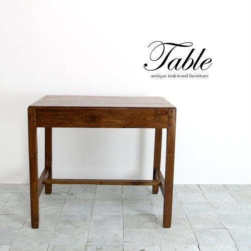 ●送料無料●アンティークテーブル80 ダイニングテーブル デスク