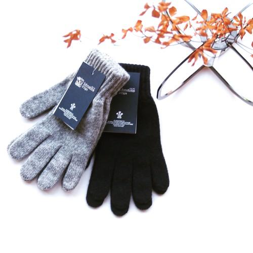 Johnstons / Cashmere Glove[Light Grey,Navy]