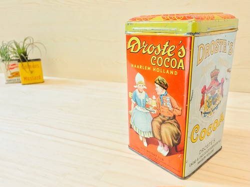60's DROSTE'S ココア缶 オランダ