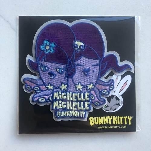 MICHELLE MICHELLE EMBROIDERED PATCH