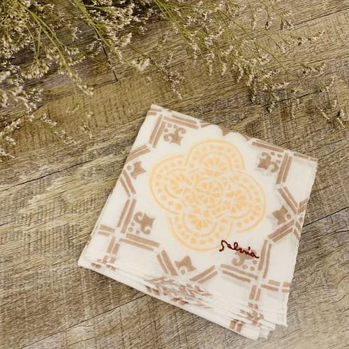 Salvia旅するハンカチーフ(Spain/mosaic)