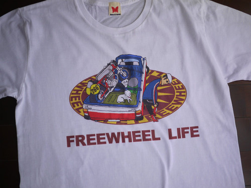 FREE WHEEL LIFE  6.2ozホワイト