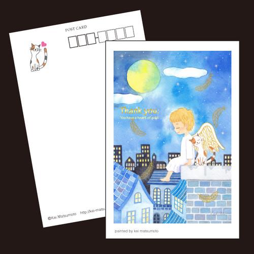 天使のポストカード9枚セット/3種類×各3枚