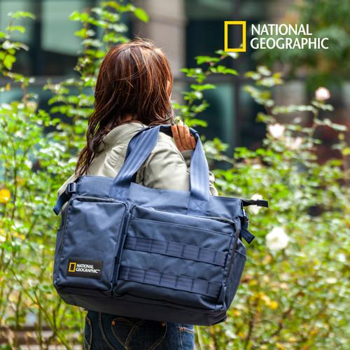 NAG-13070 [クーポン対象]トートバッグ 24L Nationalgeographic ナショナルジオグラフィック