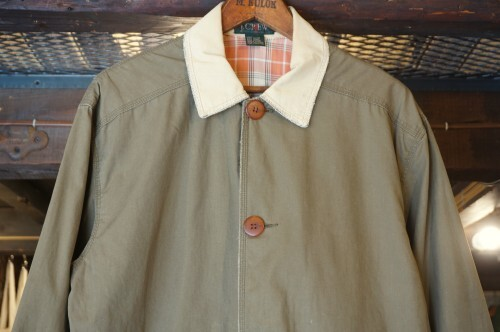 80's J.CREW ash brown hunting-style Jacket