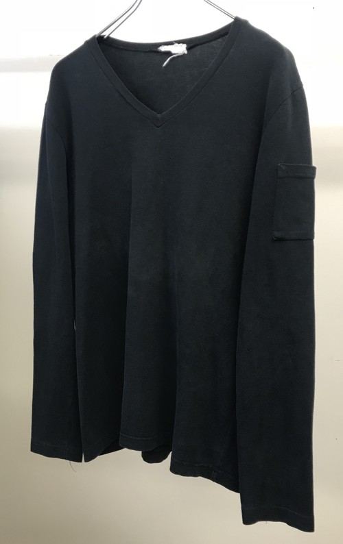 1997s HELMUT LANG POCKET L/S T SHIRT