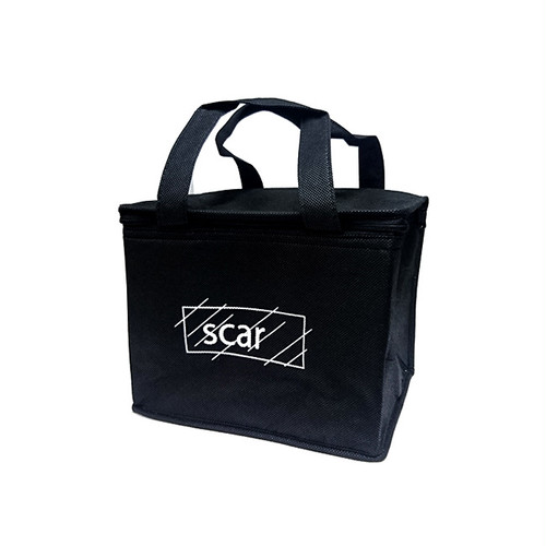 scar /////// 6PACK COOLER BAG (Black)