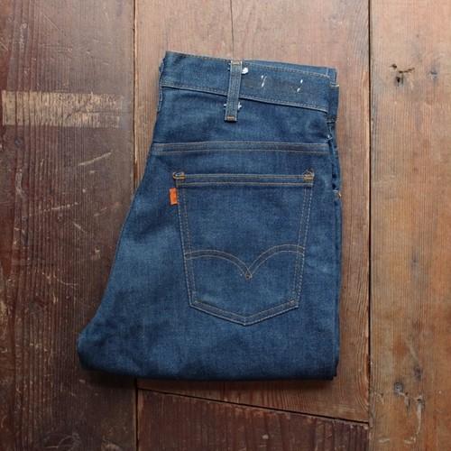1970s Levi's 646 - 0217 Flare Denim Pants /  ノンウォッシュ? リーバイス ベルボトム ジーンズ