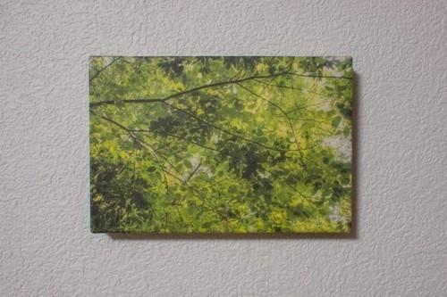 和紙の写真パネル#6