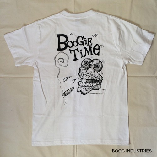 「Boogie Time」ホワイト