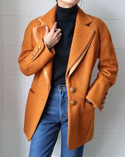 Christian Dior orange jacket