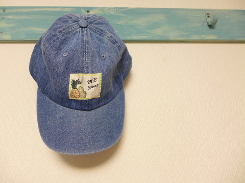 remake denim cap <pine> L.indigo