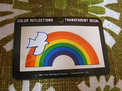 80'S Rainbow DECAL