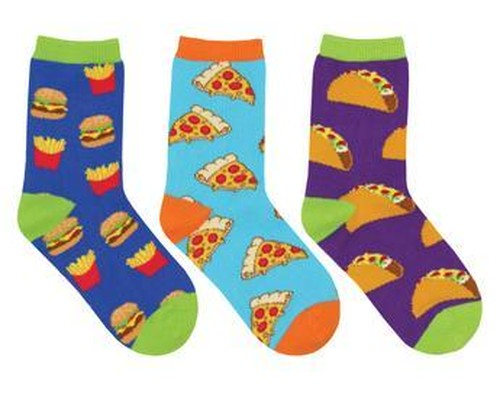 【Kids】Yummy in My Tummy 3Pack-SockSmith(ソックスミス)