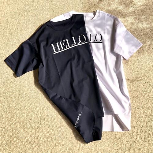 HELLO プリントシャツ