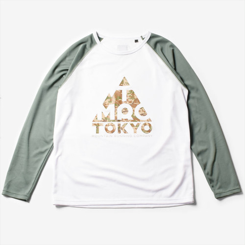 【20%OFF】Mountain Martial Arts / TMRC Logo Long Sleeve Tee 《White Khaki》