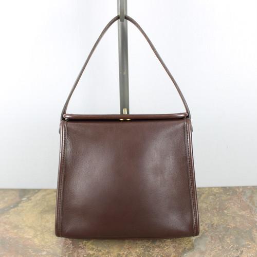 .OLD COACH TURN LOCK LEATHER HAND BAG MADE IN USA/オールドコーチターンロックレザーハンドバッグ 2000000044224