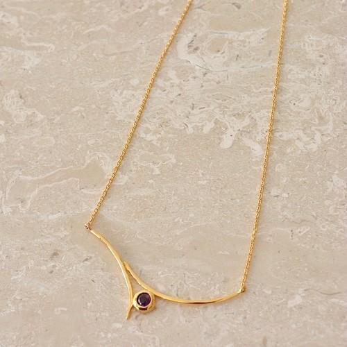 Jewelry Line【Onde】オンド ネックレス アメジスト(SJ0011)