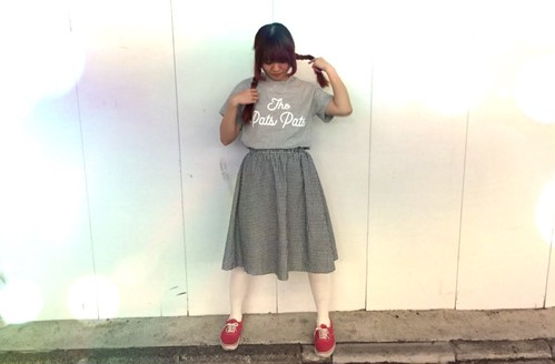 THE PATS PATS LOGO T-shirt グレー