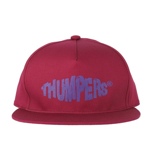 OLD LOGO CAP (WINE) / THUMPERS